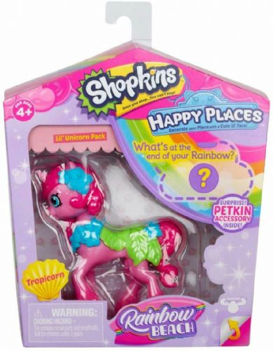 Shopkins Happy Places Rainbow Beach Season 5 Tropicorn